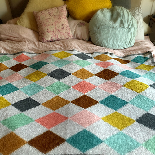 Harlequin Blanket at Loop London