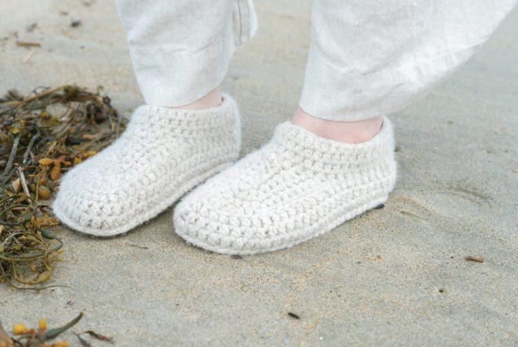 Making Magazine 9 at Loop London - simple slippers