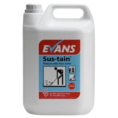 Evans - Sus-Tain Floor Polish - 5 litre