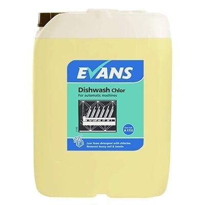 Evans - DISHWASH CHLOR - 20 litre