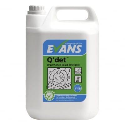 Evans - Q'DET Washing Up Liquid - 5 litre