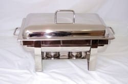 Chafing Dish - Stainless Steel-0