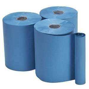 Bay West Roll Towels Opti-Serv 1ply Blue 150m 12 rolls per case