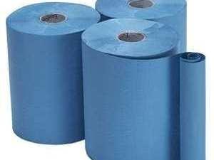 Bay West Roll Towels Opti-Serv 1ply Blue 150m 12 rolls per case