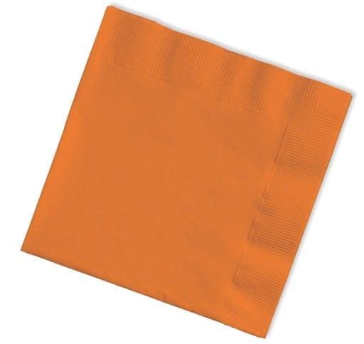 Loorolls.com Orange 40cm Napkins 3ply