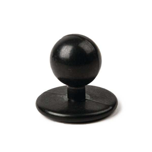 Stud Buttons Black (Pack 12)-0