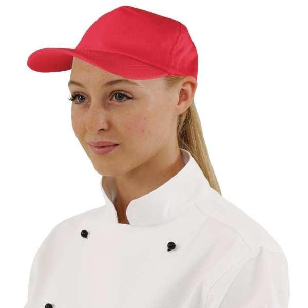 Baseball Cap Cotton Red-0