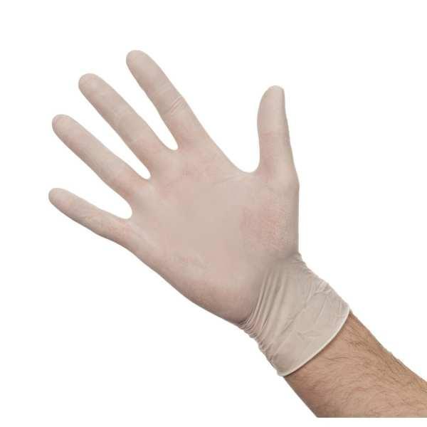 Latex Gloves - Powdered - Small - Box 100