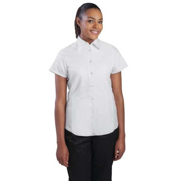 Chef Works Ladies Cool Vent Chef Shirt White (CSWV) - Size XS (B2B)-0