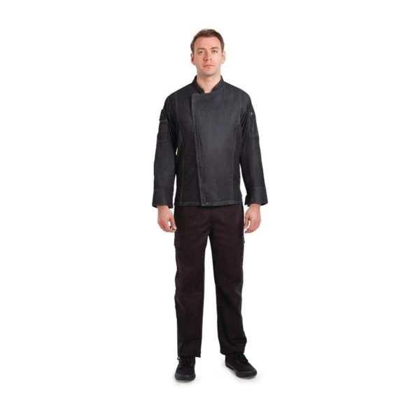 Chef Works Gramercy Denim Jacket - Size XS (B2B)-0