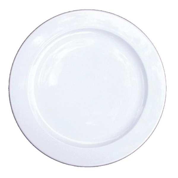 "Alchemy White Service Plate - 13"" (Box 6) (Direct)-0"