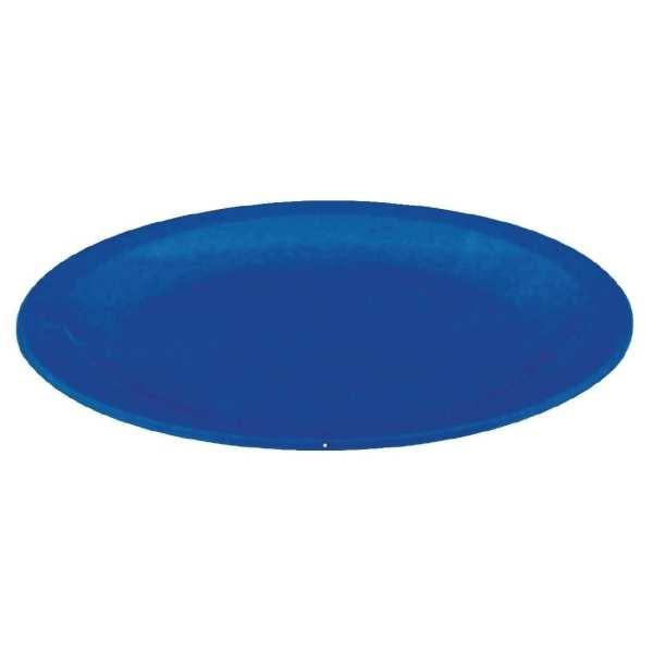 "Kristallon Polycarbonate Plate Blue - 230mm 9"" (Box 12)-0"