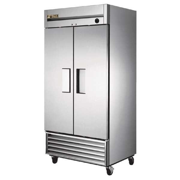 True Upright 2 door Refrigerator St/St - 991Ltr-0