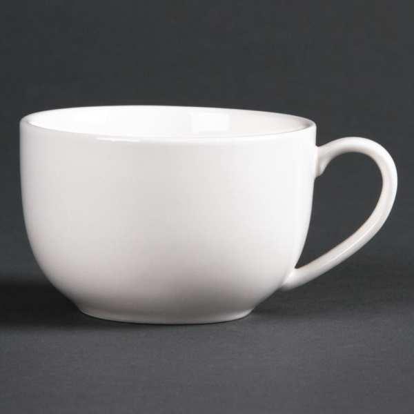 Lumina Fine China Low Round Espresso Cup - 120ml 4oz (Box 6)-0