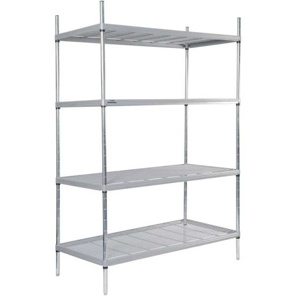 Craven 4tier Nylon Coated Wire Shelving - 1175x590x1700mm (Direct)-0