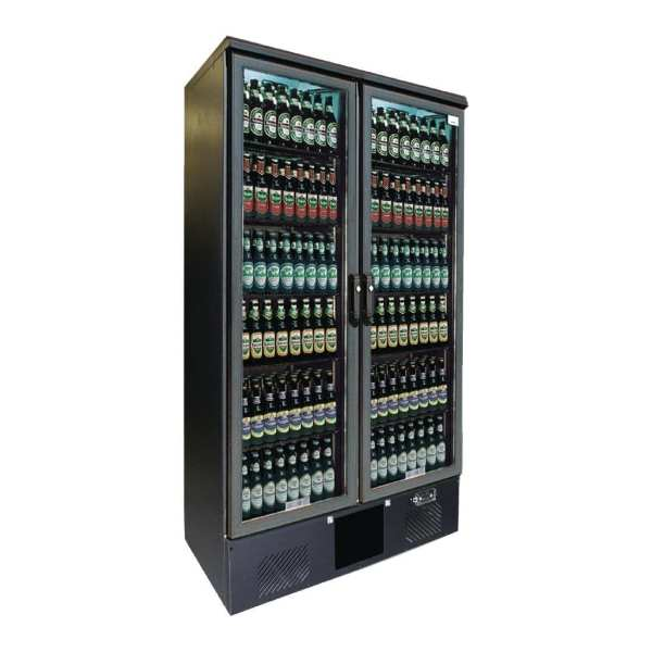 Gamko Upright Bottle Cooler Double Hinged Door Anthracite - 500Ltr (Direct)-0