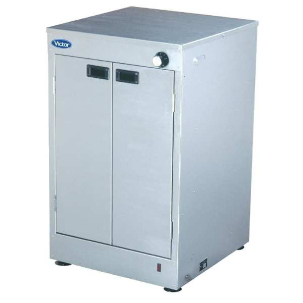 Victor Hot Cupboard Prince - 560x560x900mm 300 Plates Capacity (Direct)-0