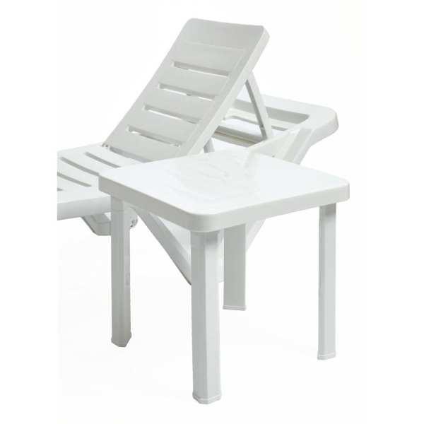 Resol Sun Lounger Side Table Polypropylene (Pack 6)-0