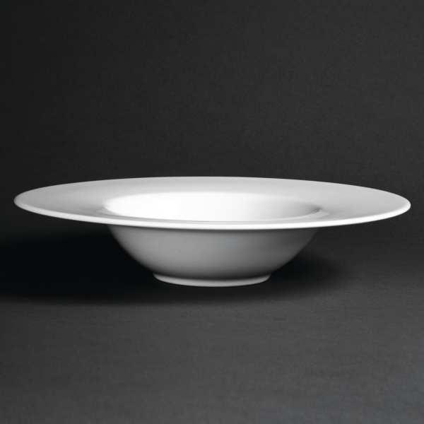 "Royal Porcelain Classic Pasta Plate White - 280mm 11"" (Box 6)-0"
