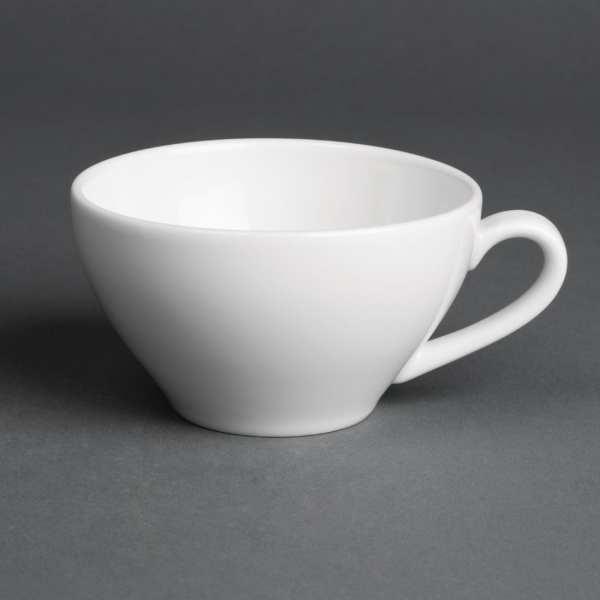 Royal Porcelain Classic Teacup White - 230ml 8oz (Box 12)-0