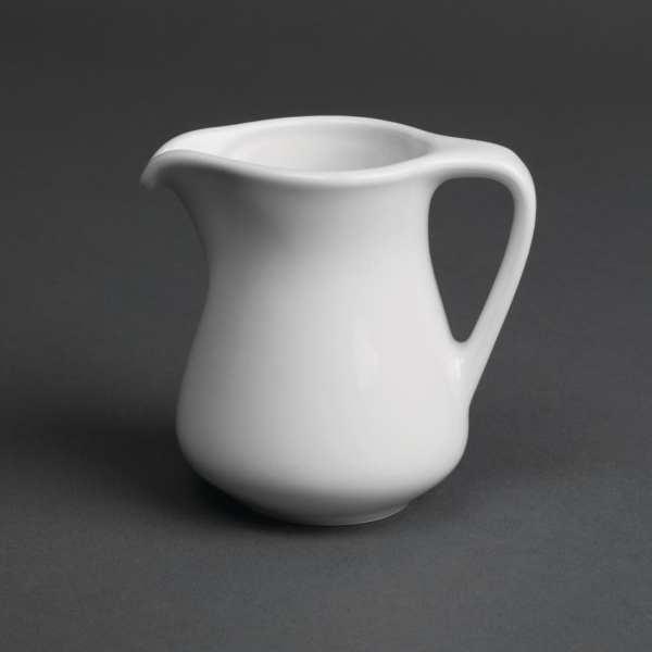 Royal Porcelain Classic Creamer White - 3.5oz 100ml (Box 12)-0
