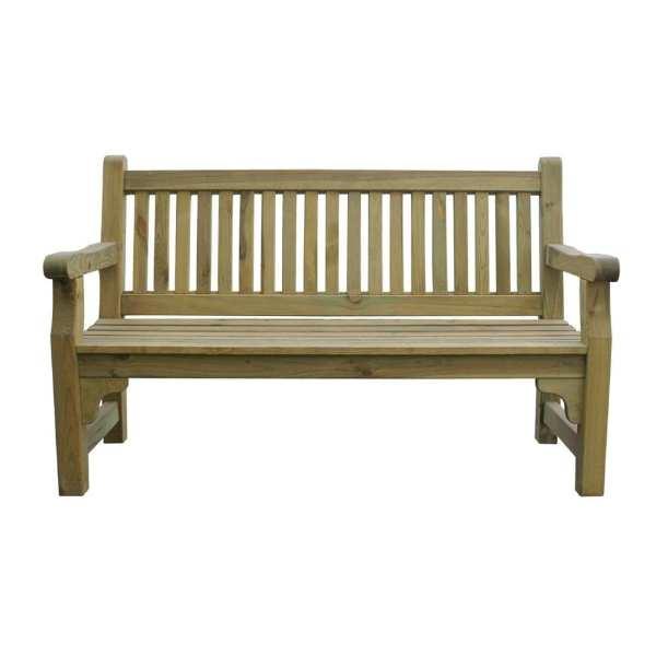 Softwood Garden Bench (Direct)-0
