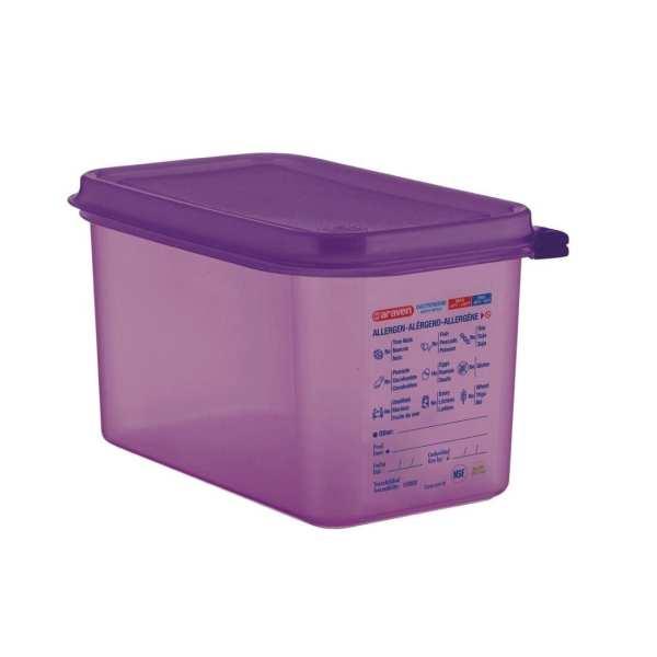 Araven Allergen Container GN - 1/4 4.3Ltr & Airtight Lid-0
