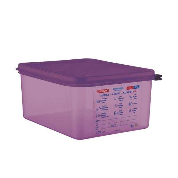 Araven Allergen Container GN - 1/2 10Ltr & Airtight Lid-0