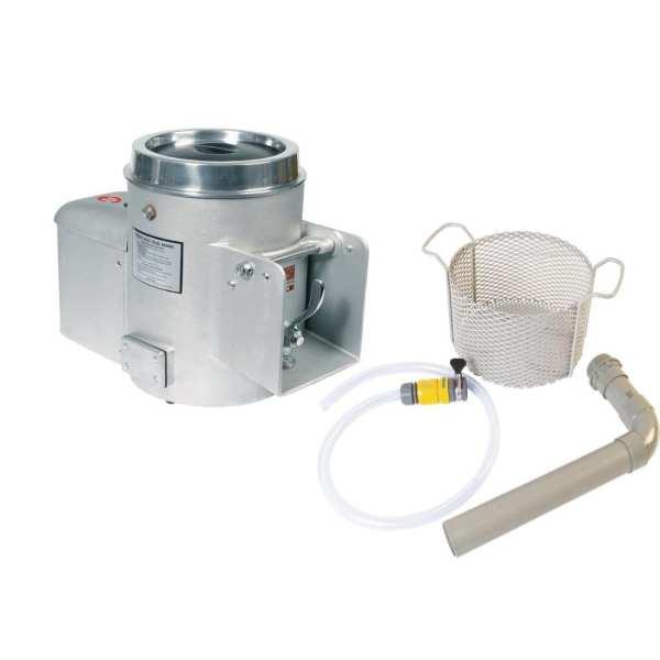Metcalfe EP10 4.5kg Potato Peeler Grey (Install. Kit) (Direct)-0
