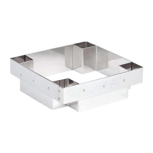 Matfer Mozaik Square Tartlet Cutter-0
