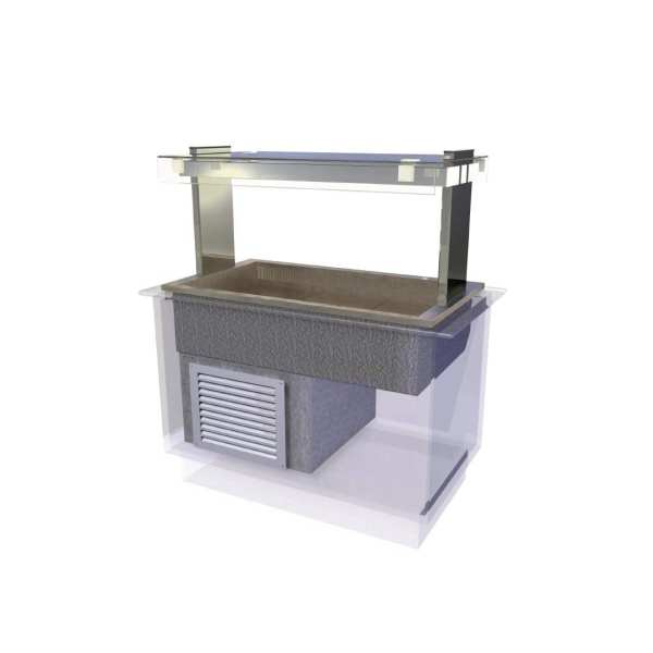 Kubus Cold Island Well Self Service 1175mm (L) (Direct)-0