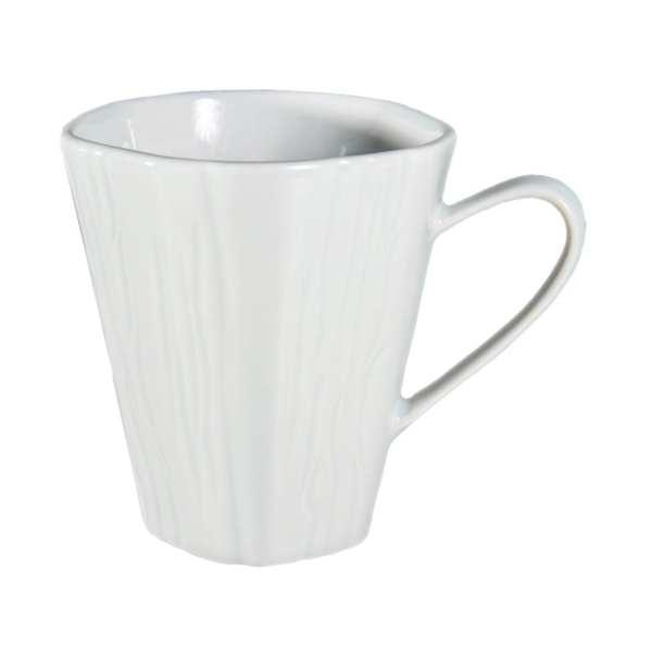 Pillivuyt Teck Mug 300ml White (Box 6) (B2B)-0