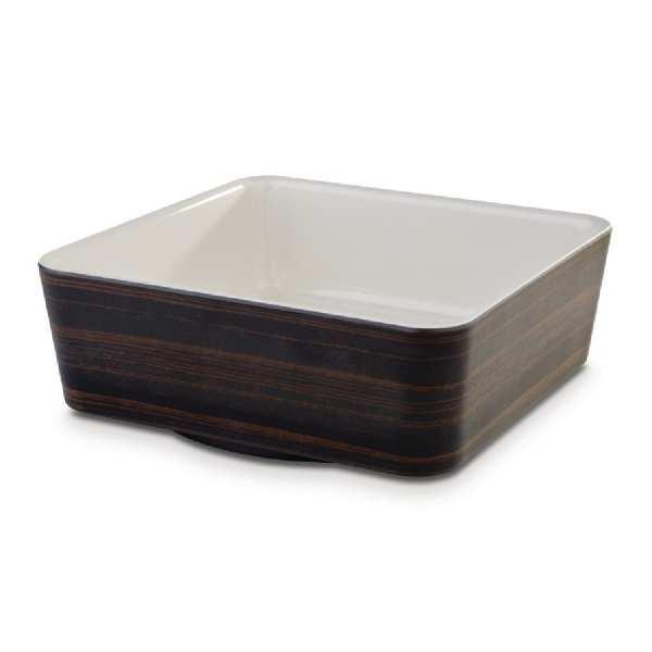APS+ Square Bowl Oak/Cream 1.5Ltr 200x200mm (B2B)-0