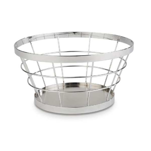 APS+ Metal Basket Chrome 210mm d 110mm h (B2B)-0