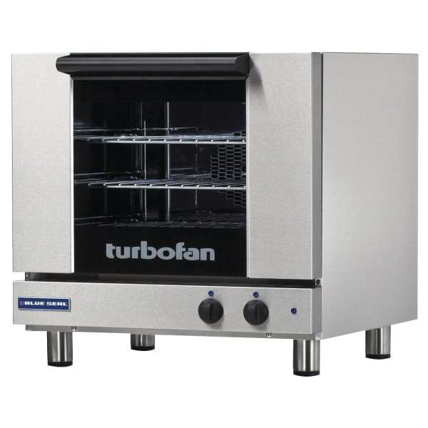 Blue Seal Turbofan Convection Oven with Bi-Directional Fan - 3 x 2/3 GN (Direct)-0