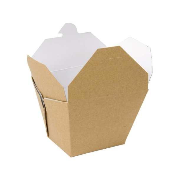 Square Multi Food Carton Kraft - 92x118x97mm (Pack 250)-0