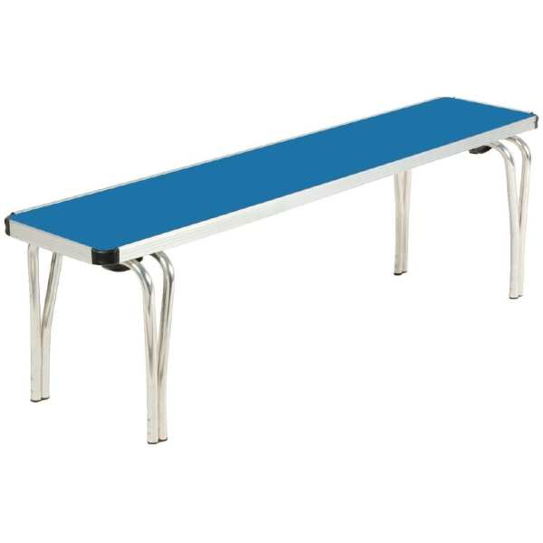 Contour Stacking Bench (Blue) - 1220x254x432mm (Direct)-0