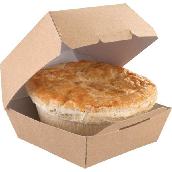 Kraft Natural Burger Boxes Standard (Case 250)