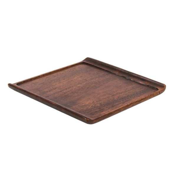 "Alchemy Wooden Buffet Tray - 303x303mm 11 7/8x11 7/8"" (Box 4) (Direct)-0"