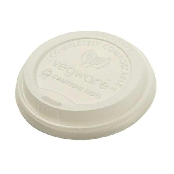 Vegware Hot Cup Lid - 12/16oz for GH021 & GH022 (Box 1000)-0