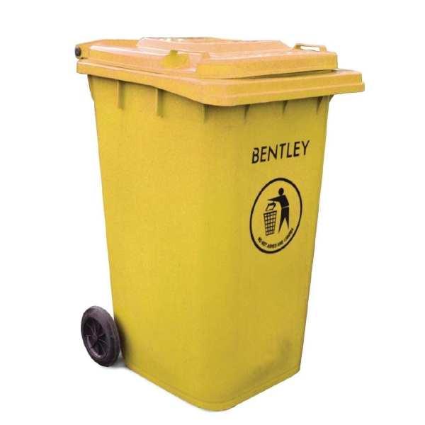 Wheelie Bin Yellow - 240Ltr (Direct)-0