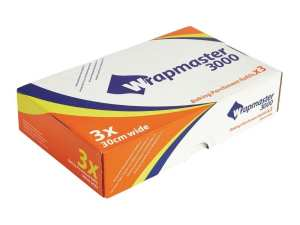 """Wrapmaster Baking Parchment Refill - 300mm 12"""" x 50m (Box 3)-0"""