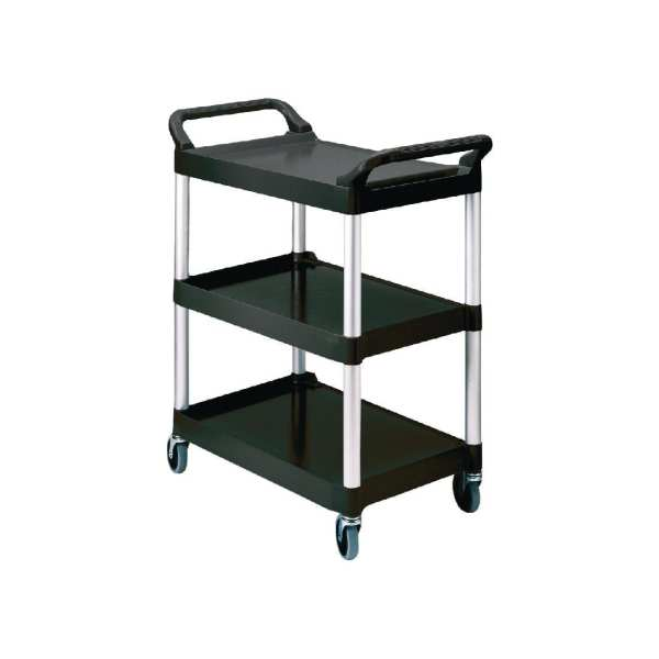 Rubbermaid Utility Cart Black-0