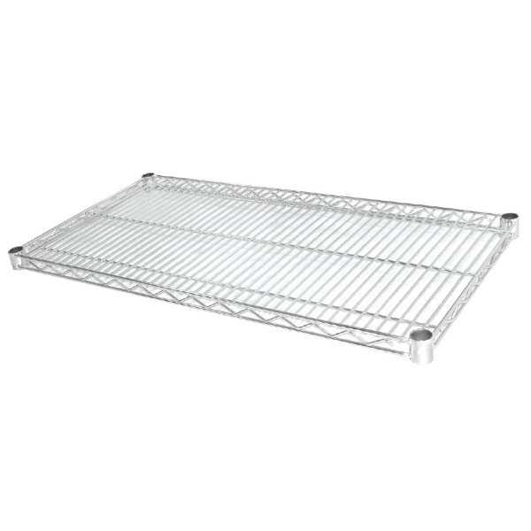 Vogue Wire Shelves - 610x1525mm Incl 8 Pairs of Clips (Pack 2)-0