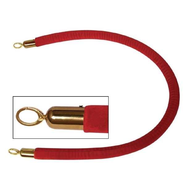 Bolero Red Rope for Brass Barrier-0