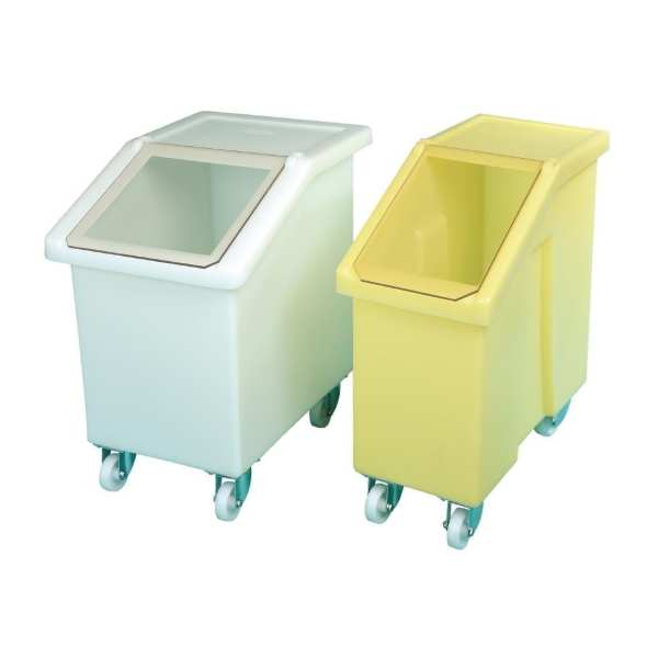 Ingredient Bin White - 65Ltr (Direct)-0