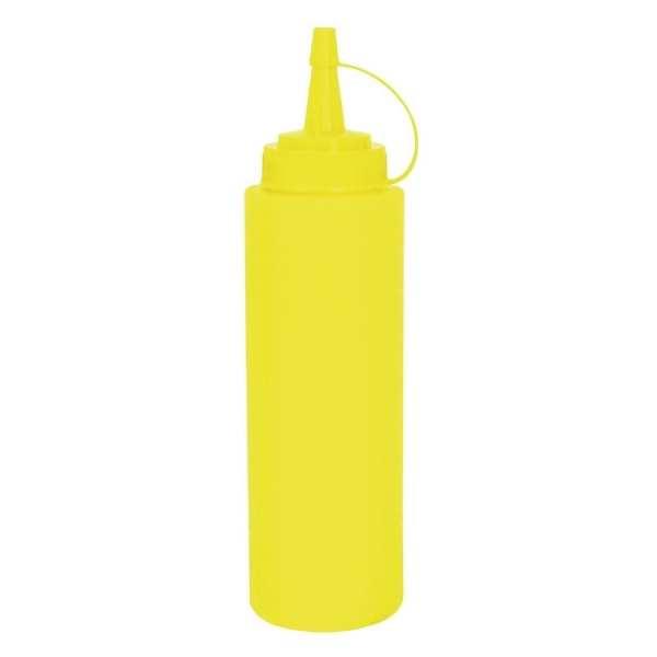 Vogue Squeeze Sauce Bottle Yellow - 35oz-0