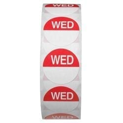 Day Dots 1000's - Wednesday-0
