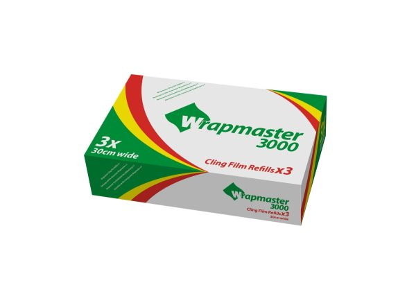 Wrapmaster Catercling 300mm x 300m - Box of 3-0