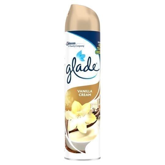 Glade Air Freshener Vanilla Cream 300ml - 12 Pack